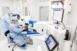 Общий вид современной лазерной операционной